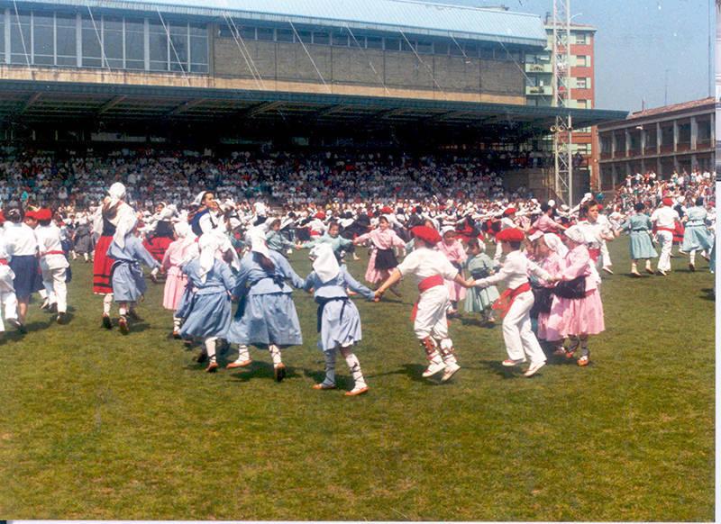 Sestao, capital de las danzas vizcainas
